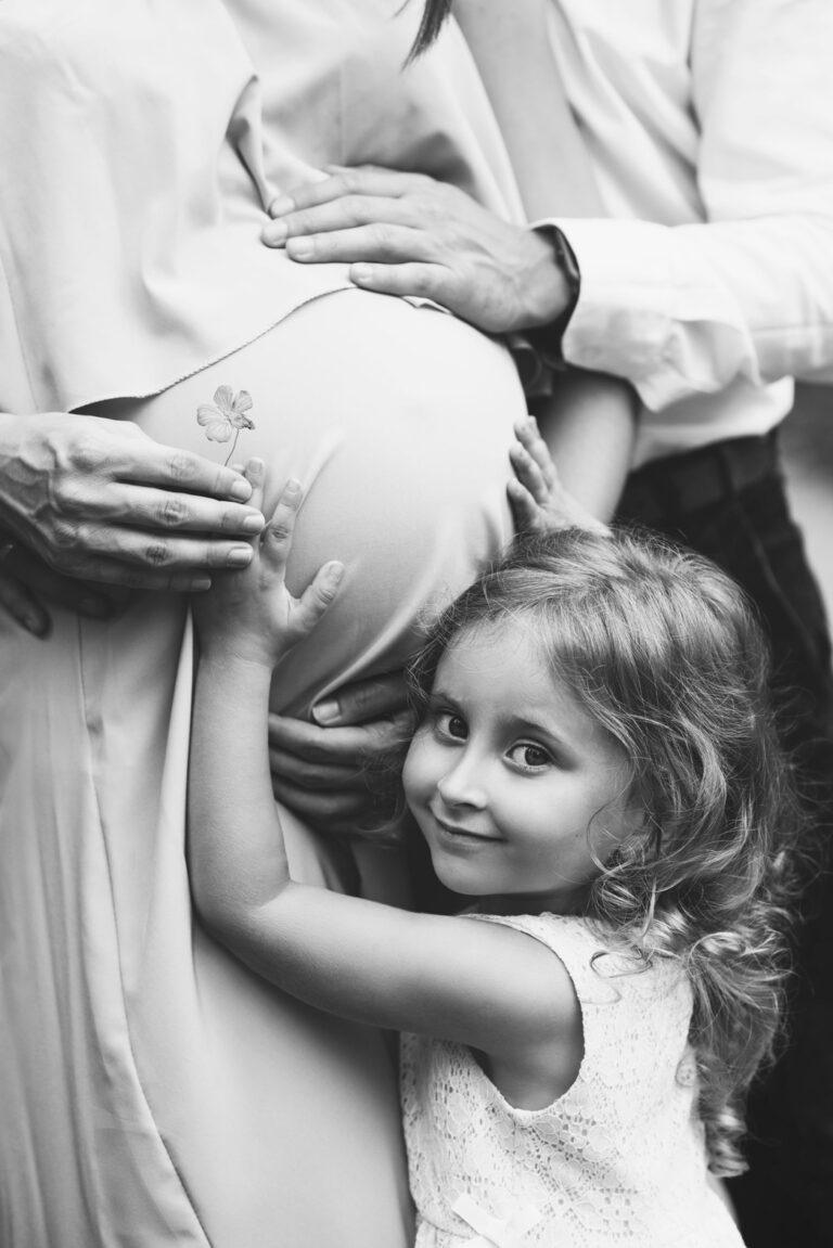 rodzinna sesja ciążowa Jaworzno