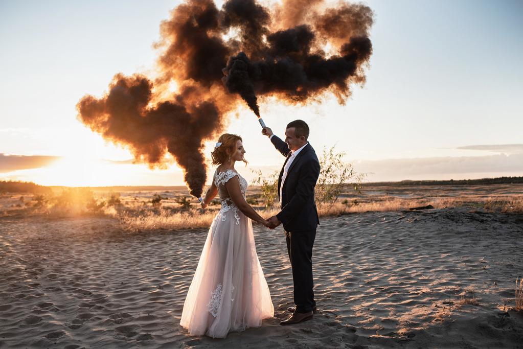 Plener ślubny Pustynia Błędowska